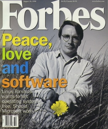 Cover of Forbes 1998