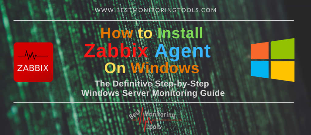 how to install zabbix agent on windows