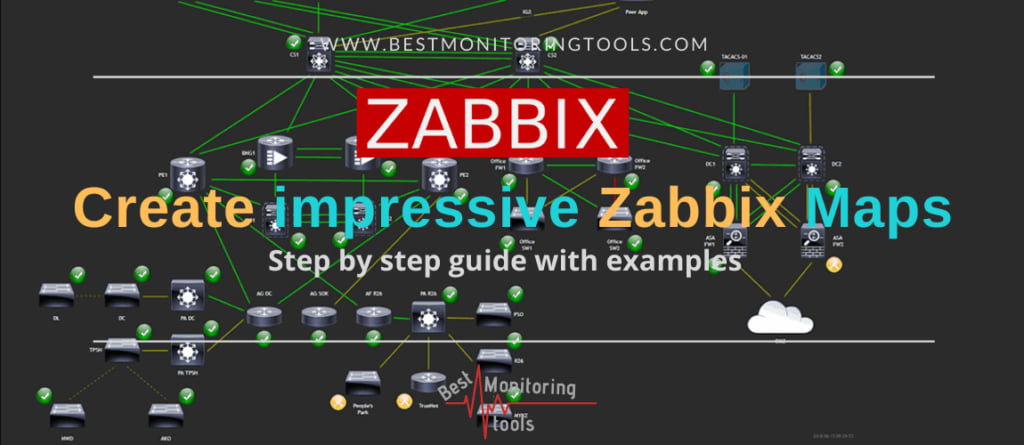 create zabbix network maps_step by step tutorial with examples