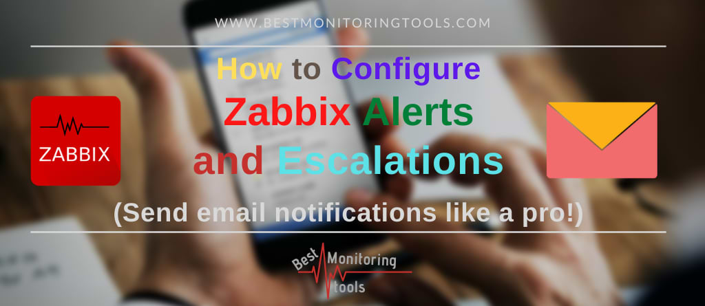 setup zabbix mail alerts and escalations